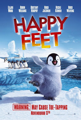 Watch Happy Feet 2006 BRRip Hollywood Movie Online | Happy Feet 2006 Hollywood Movie Poster