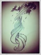 Flash création personnel, tatouage prévu en Décembre sur Morganne.