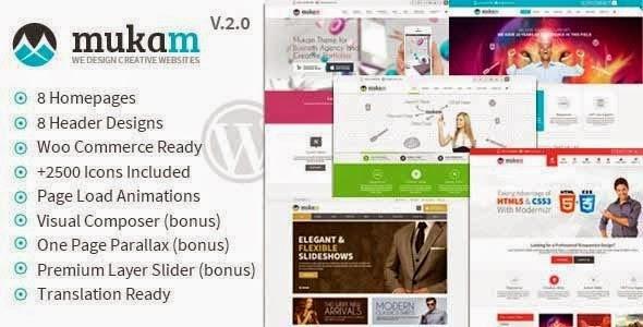Download ThemeForest Mukam V2.0 - Limitless Multipurpose WordPress Theme for free.