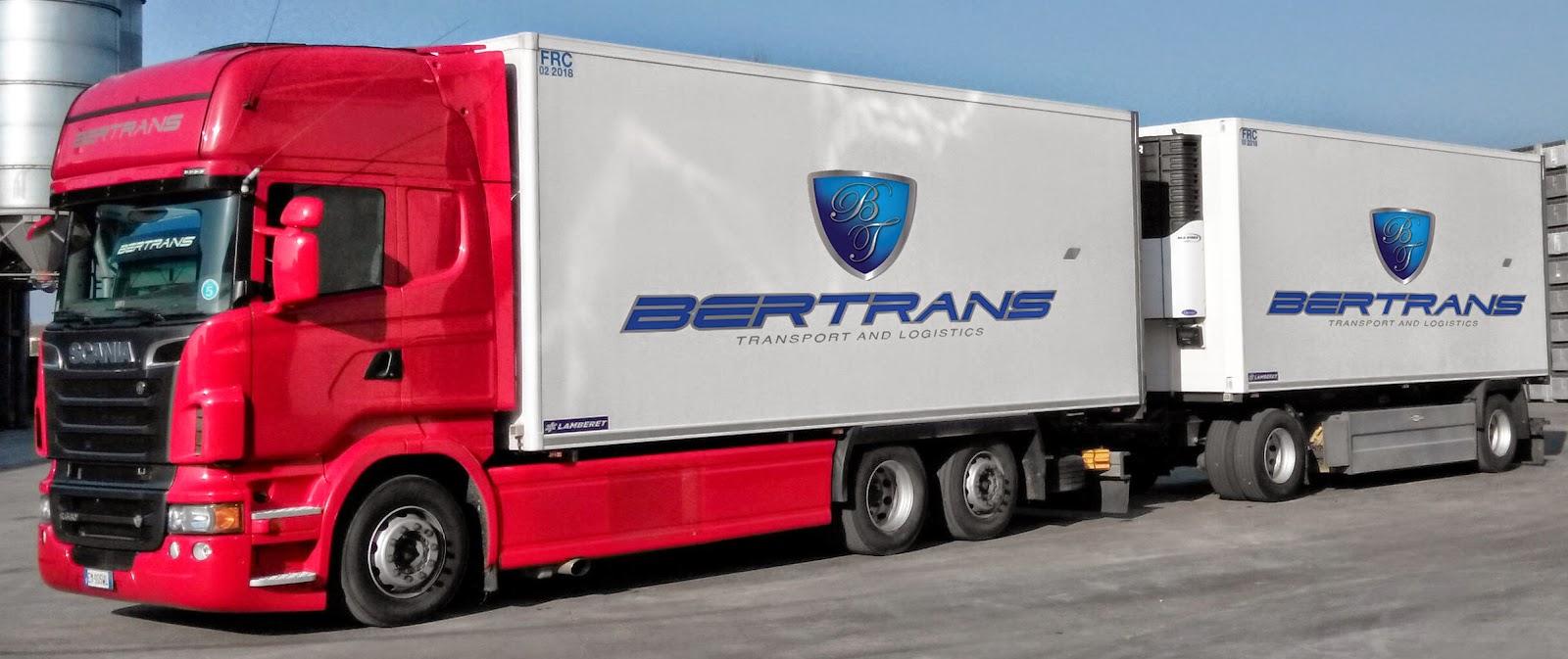 Spedizioni Internazionali Bertrans : AUTOTRASPORTI E LOGISTICA BERTRANS SRL
