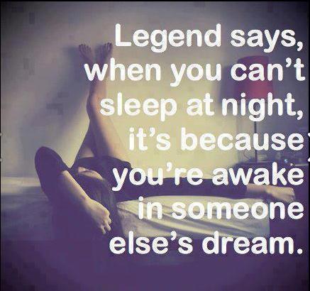 kan inte sova på natten