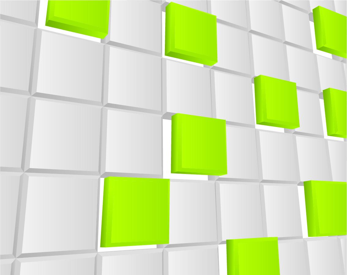テクノロジーを表現した立体的な背景 science and technology three dimensional background イラスト素材