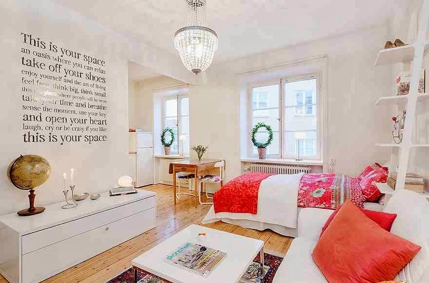 Skandynawski design mieszkania