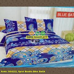 Harga Sprei Bonita Blue Batik Jual