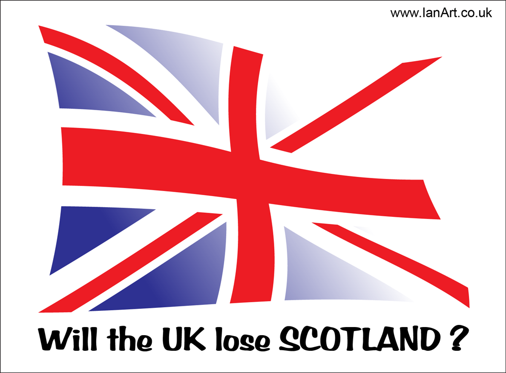 Union Jack Flag - Scottish Independence Vote