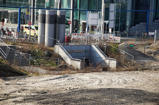 Baustelle Rahel-Hirsch-Straße, Berlin Hauptbahnhof, 10557 Berlin, 11.03.2014