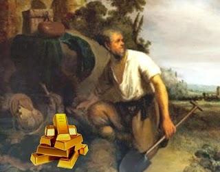 L'Avaro e l'oro (Esopo)