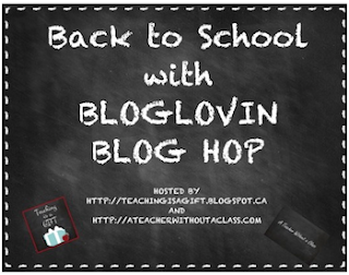 photo of Back to School with the BlogLovin Blog Hop lesson plans, teaching materials