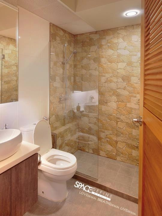 Aldora revised 4 room hdb renovation ideas for Bathroom ideas earth tones