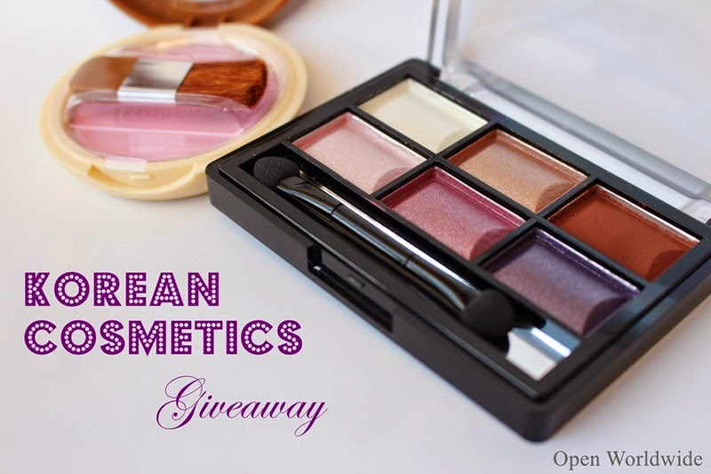 Korean Cosmetics Giveaway