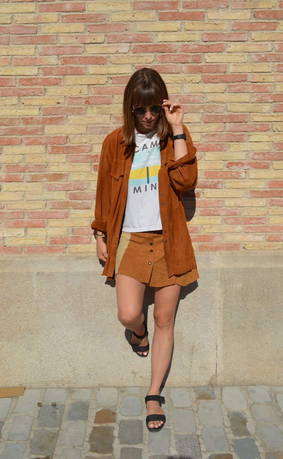 How to style wear double suede seventies