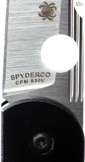 Spyderco Des Horn EDC Pocket Knife - Blade 4