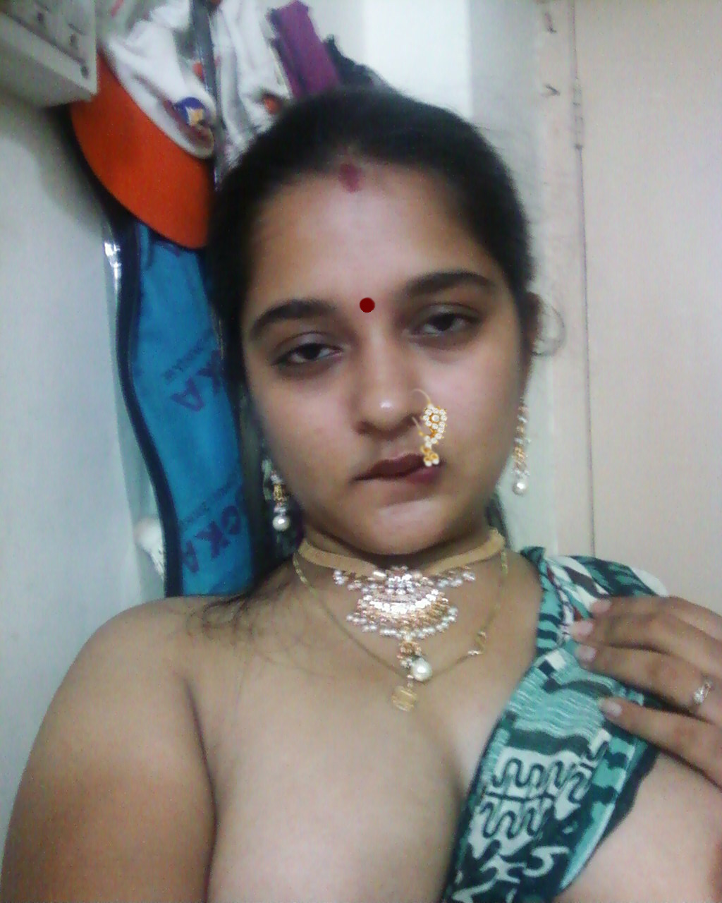 To Hot Desi Bhabhi With Big Boobs And Shaved Pussy Naked Pics