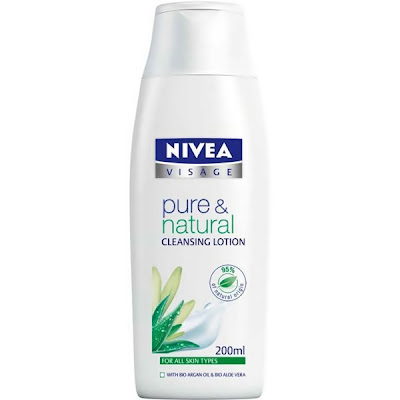 NIVEA Pure & Natural Cleansing Lotion, Rangkaian Proudk NIVEA Pure & Natural, NIVEA Pure & Natural, NIVEA