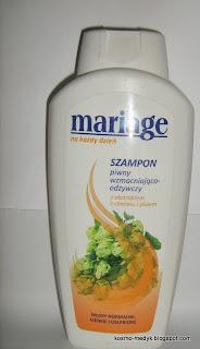 Miraculum Mariage Szampon piwny, wzmacniająco - odżywczy-Recenzja