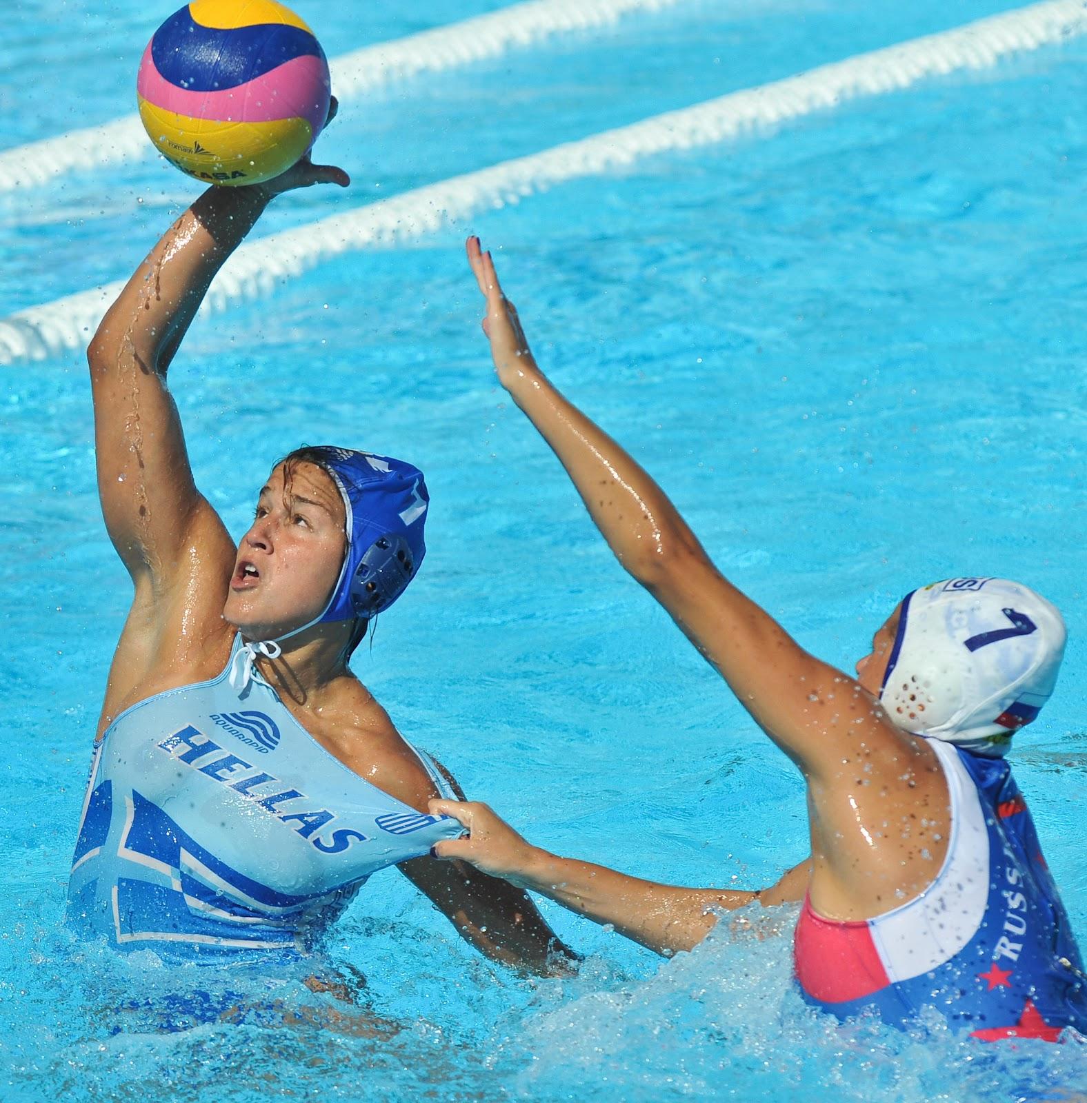 Ladies water polo breast slip compilation 100 - Swimming pool wardrobe malfunction pics ...