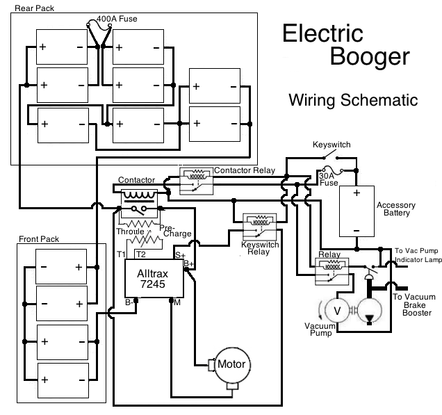 project  electric booger  wiring schematics