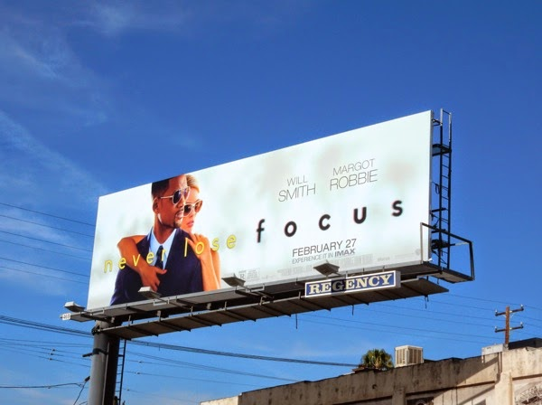 Focus film billboard