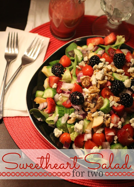 sweetheart salad, Freckled Fox, Recipe