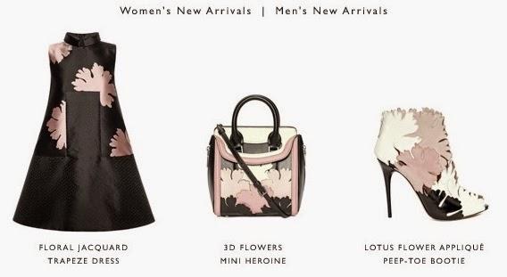Alexander McQueen Geisha Pink Floral