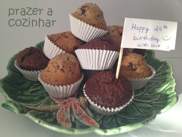 prazer a cozinhar - bolo de muffins