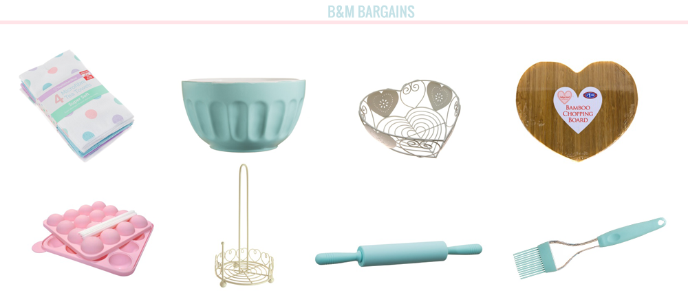 home bloggers, home, home wishlist, home bloggers, wishlist, b&m homeware, b&m home store, b&m haul, pastel, betty winters collection, mixing bowl, heart chopping board,