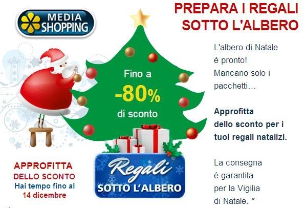 Natale media shopping regali con sconti fino all 39 80 e for Mediashopping auto