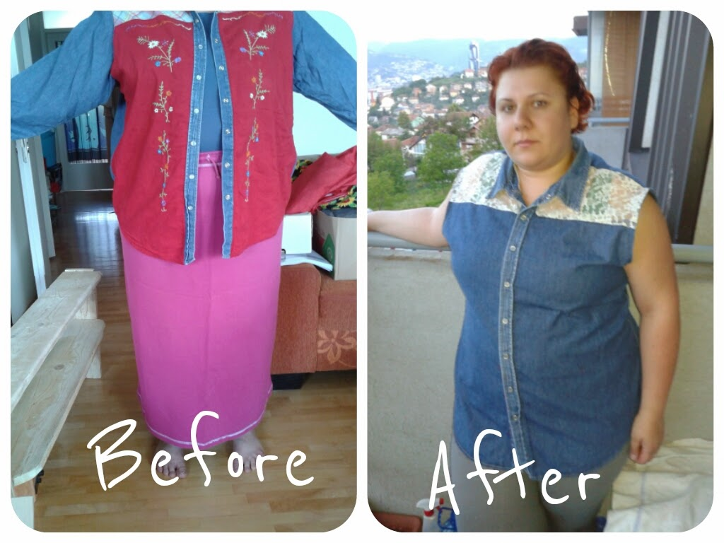 http://curvyrefash.blogspot.com/2014/06/refashion-no-2-denim-shirt.html