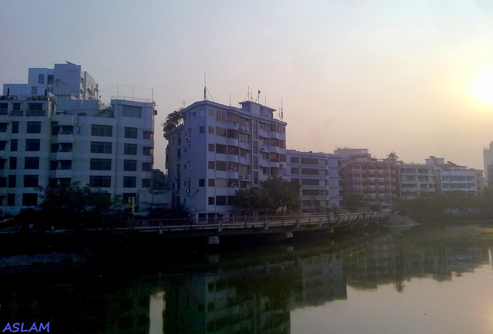 Lake city in Dhaka