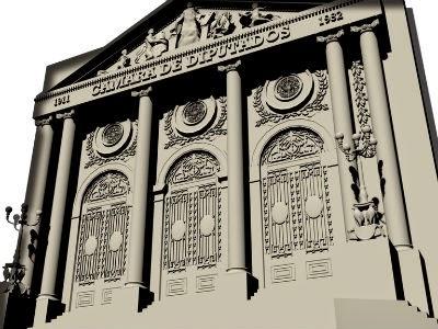 Modelan en 3D edificios Ciudad de México