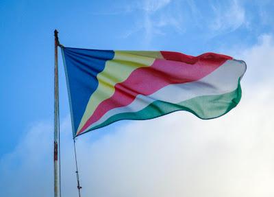 Nationaflagge der Seychellen