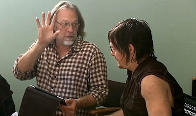 The Walking Dead: Greg Nicotero e Norman Reedus