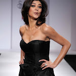 Sushmita Sen Sizzling Hot on Ramp In a Short Black Dress