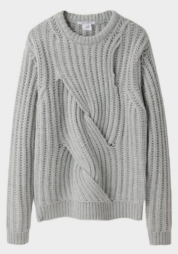 CARVEN TWISTED KNIT