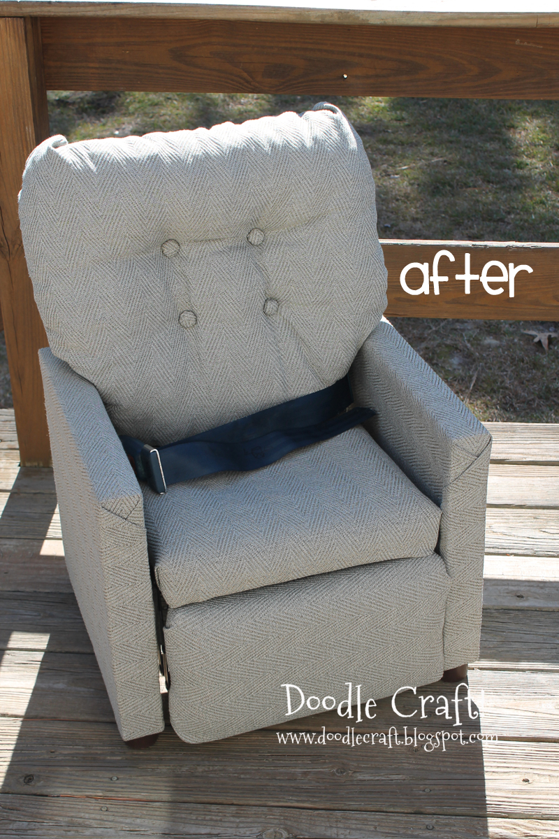 Mini Reclining Chair REDO! : mini recliner chairs - islam-shia.org