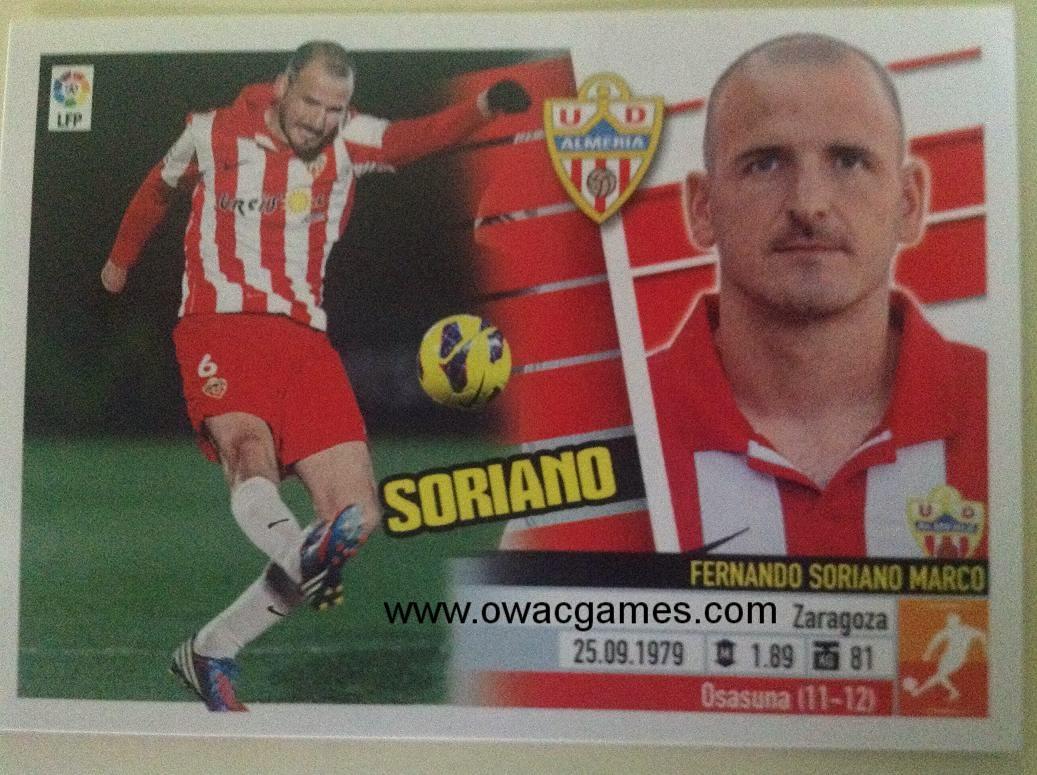 Liga ESTE 2013-14 Almeria 11 - Soriano