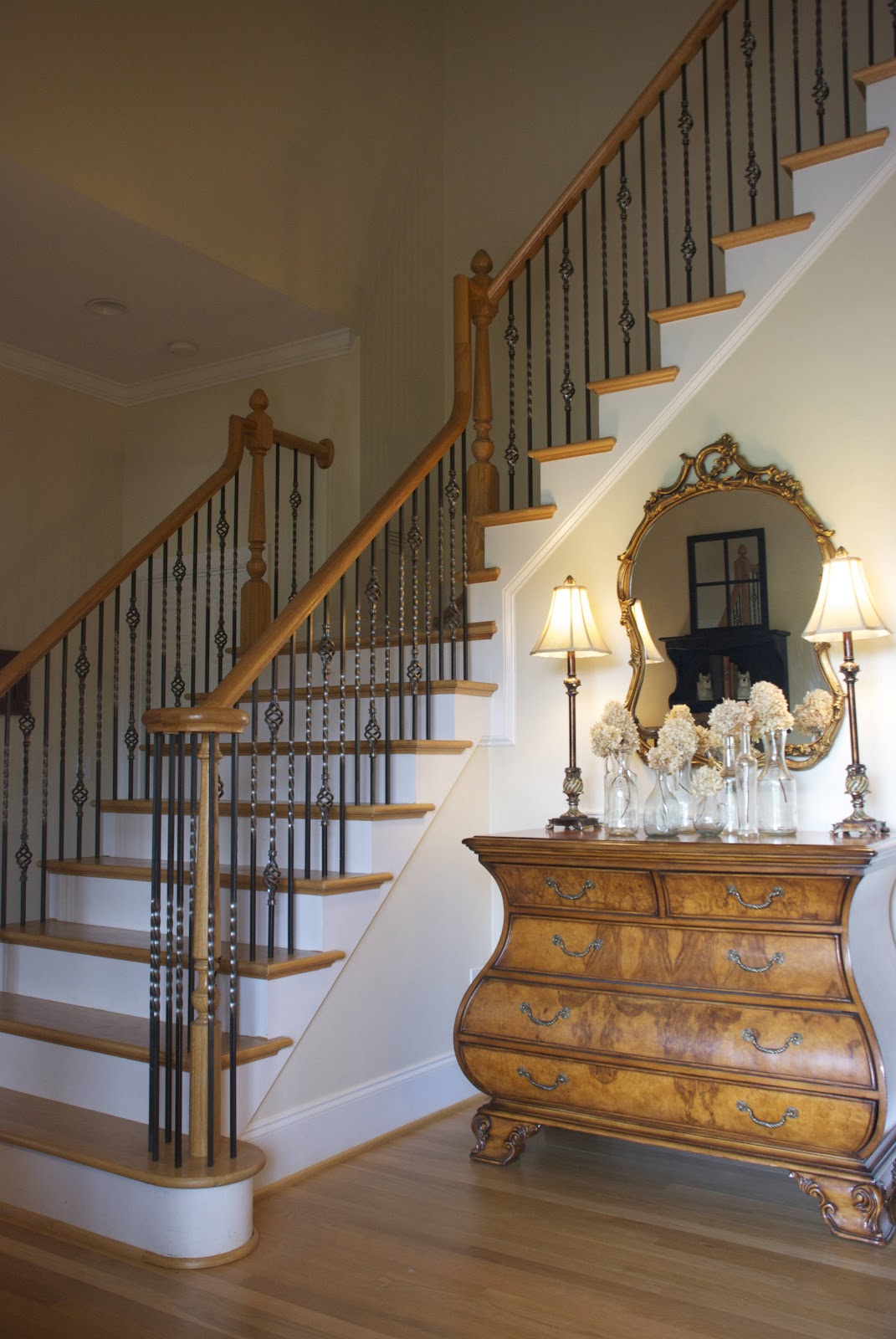 Foyer Staircase Photos : The vintage wren leaving our nest