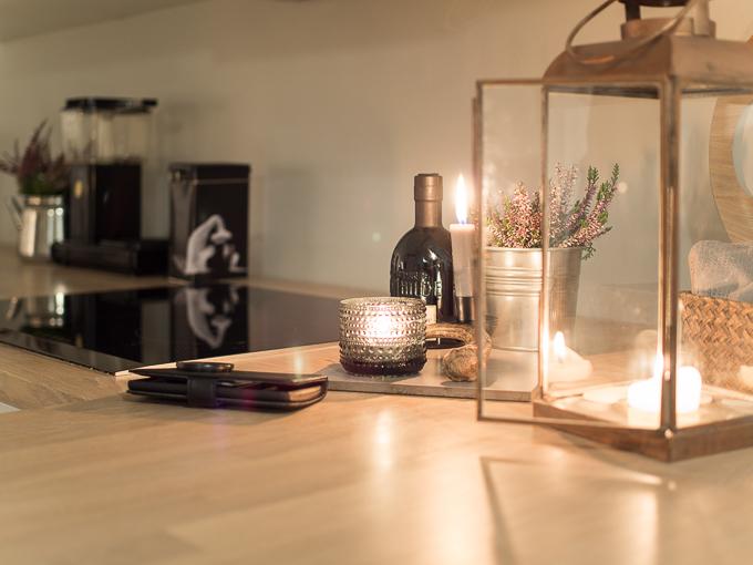 keittiö syksy keittiön tunnelma illalla