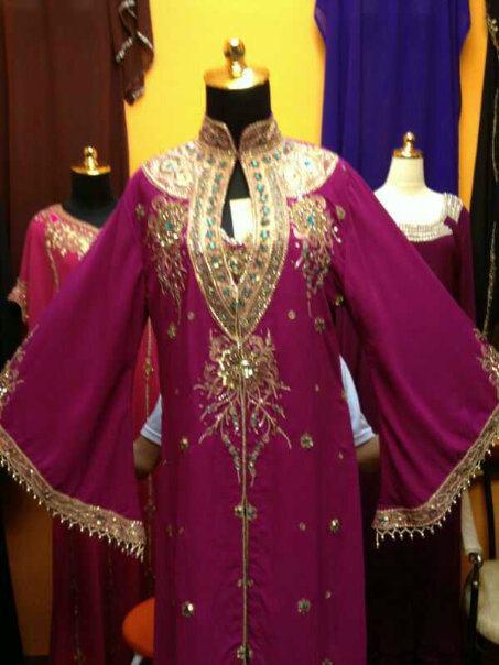 produk muslim: BAJU DRESS PESTA