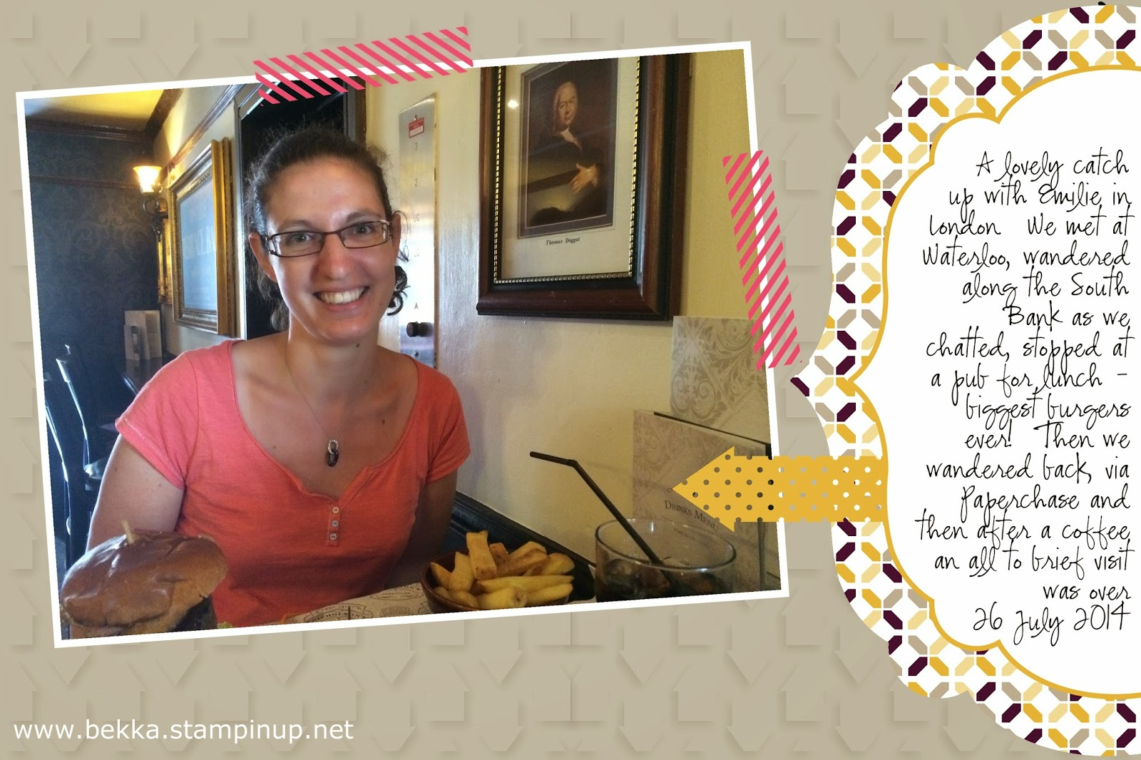 Digital Insert for Project Life by Stampin' Up!
