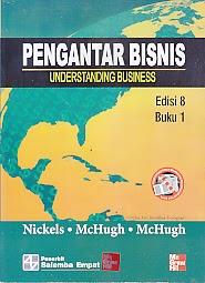 toko buku rahma: buku PENGANTAR BISNIS UNDERSTANDING BUSINESS EDISI 8 BUKU 1, pengarang nickles, penerbit salemba empat