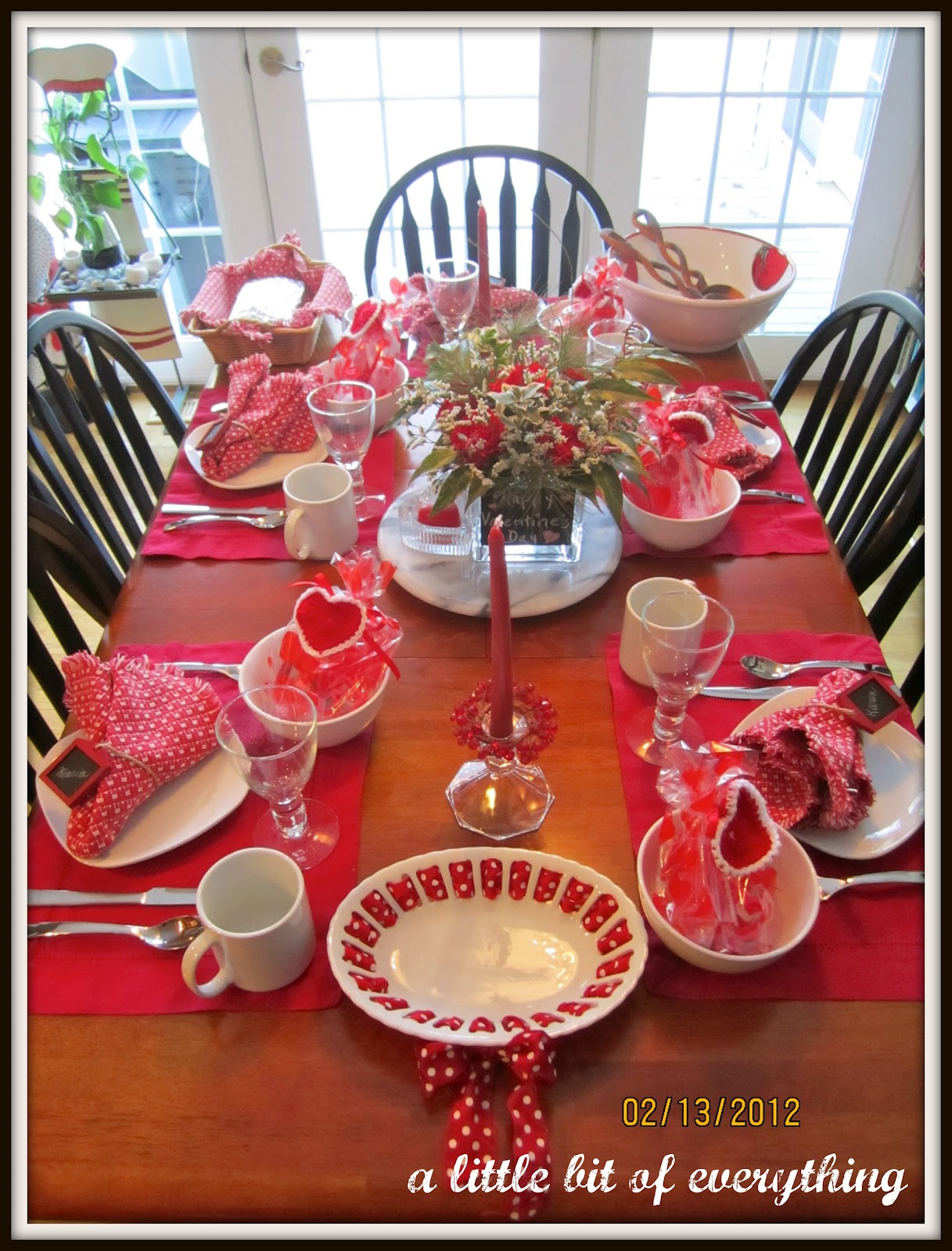A Little Bit Of Everything Table Settings Valentine 39 S