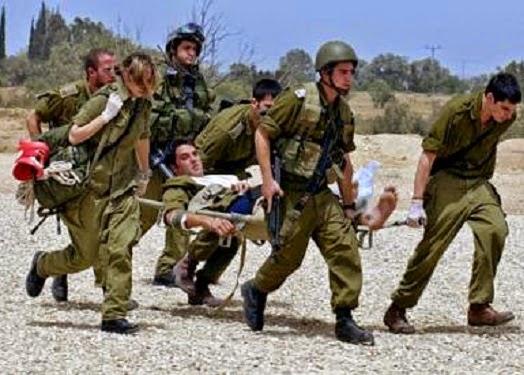 tentara Israel terluka