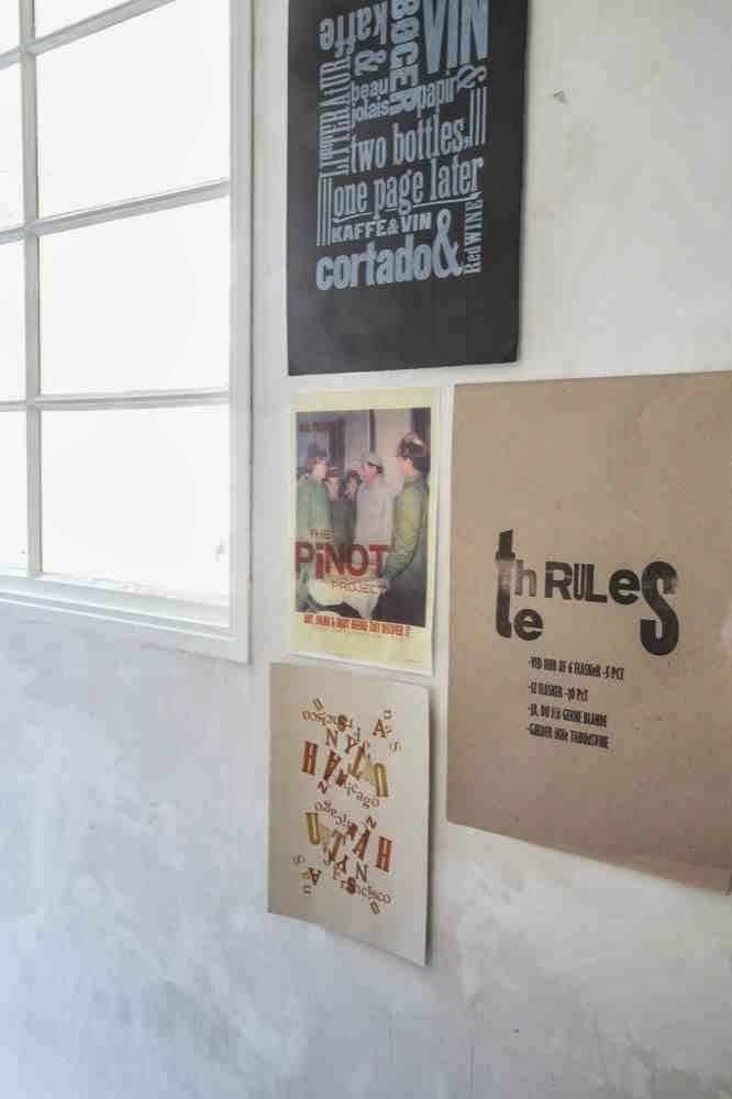 Typografie na ścianach