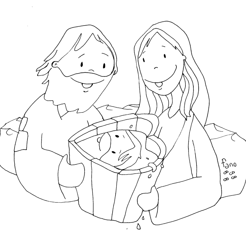 Vistoso Agua Temática Para Colorear Ilustración - Dibujos Para ...