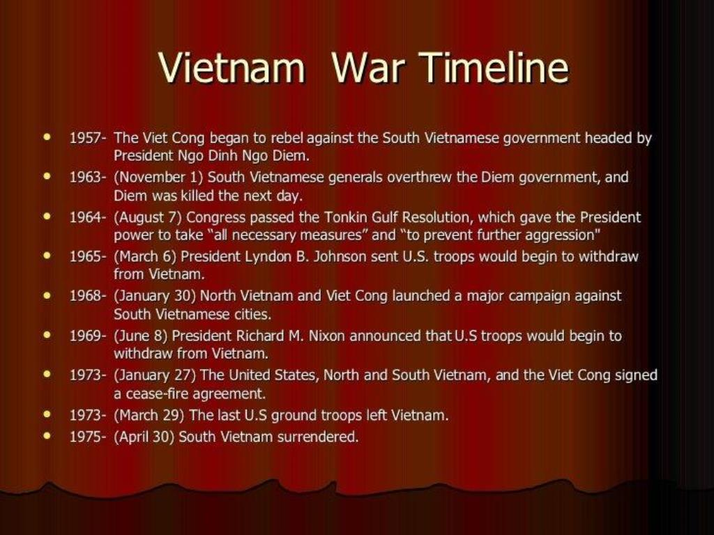 main reasons for vietnam war involvement The main countries involved in the vietnam war were north and power and replaced by leonid brezhnev who favored more direct involvement to aid north vietnam.