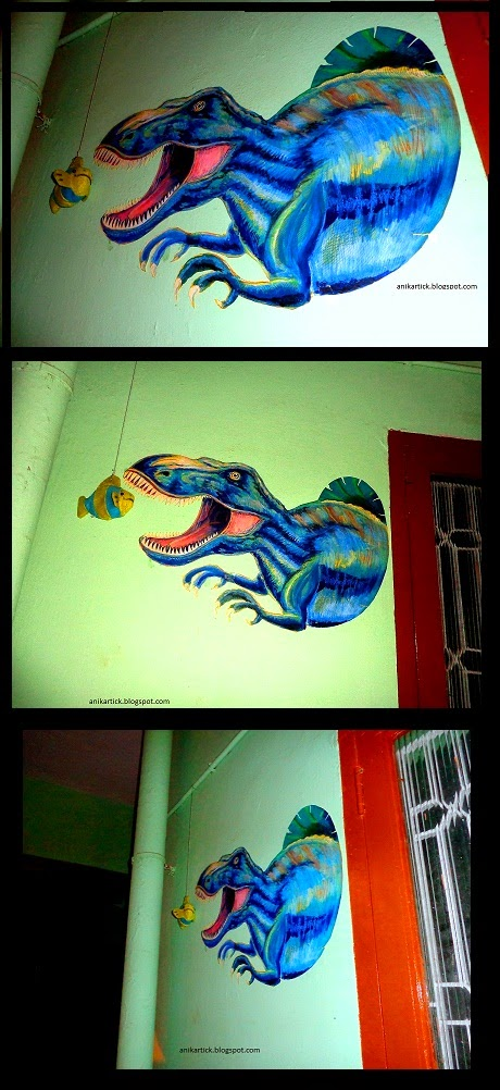 3d art 3d painting 3d wall painting by artist ani for 3d mural art in india