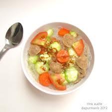 Resep Membuat Sup Oyong Bakso