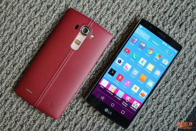 Màn hình LG G4 Docomo sử dụng công nghệ lượng tử