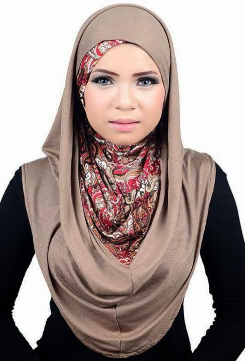 Hijab visage ovale